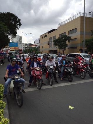Eerste indrukken van Vietnam; Ho ChiMinh
